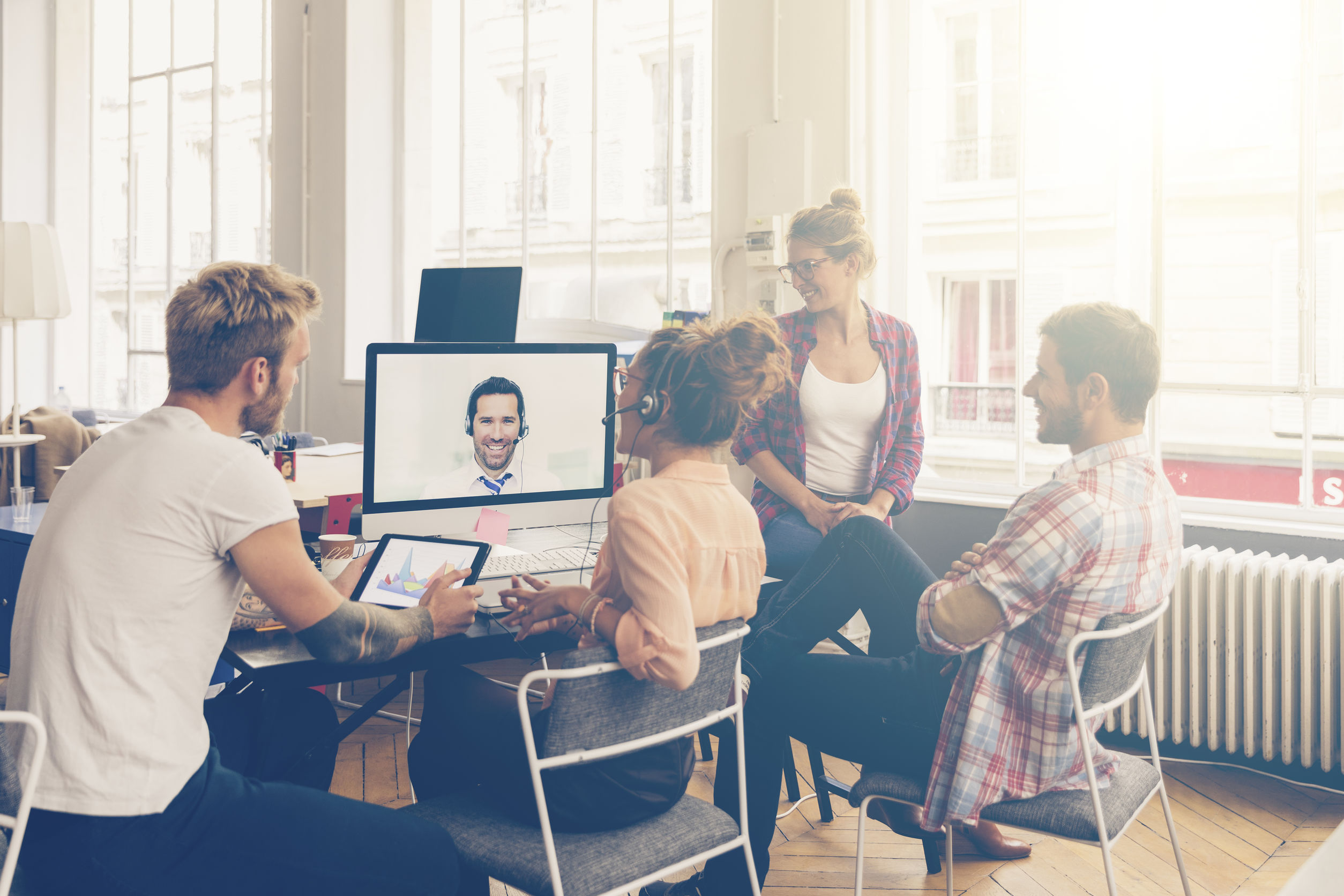 THERE'S AN UNCONSCIOUS BIAS IN VIRTUAL MEETINGS. HERE'S HOW YOU CAN AVOID IT